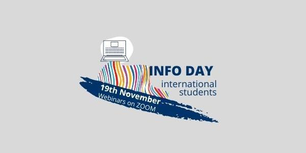 Grafica Info Day international students